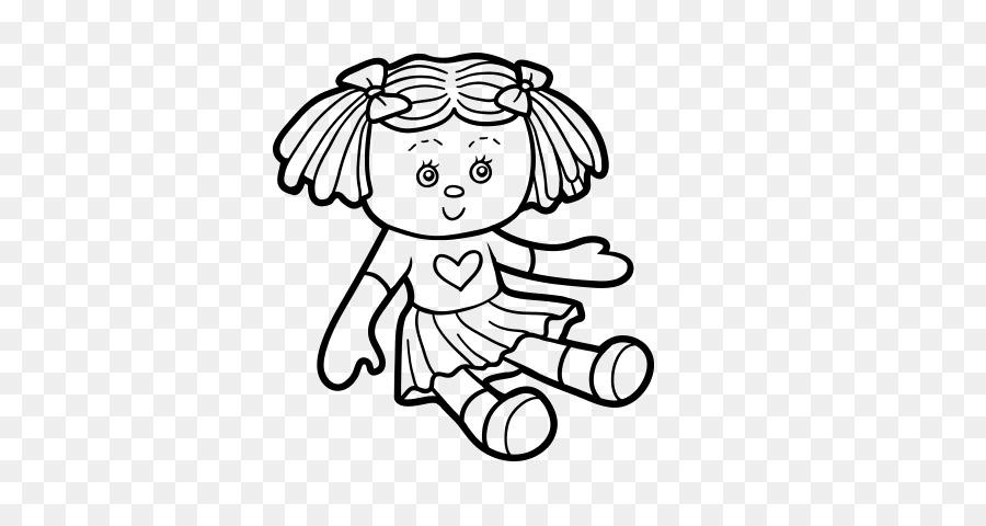 Bebek Barbie Oyuncak Boyama Kitabı çizim Bebek Png Indir 600470
