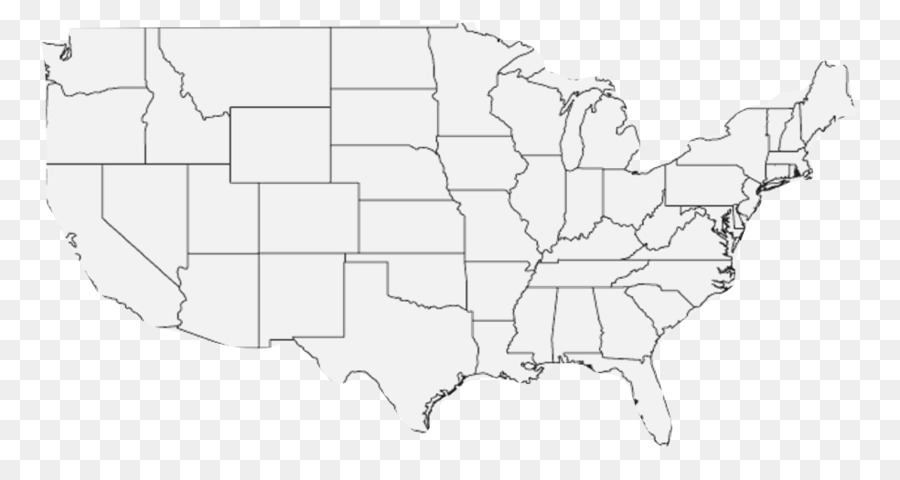 Contiguous United States Blank map Alaska World map - map png ...