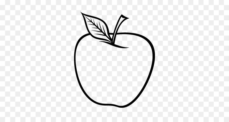 Libro para colorear de Dibujo de Manzana Comida - apple png dibujo ...