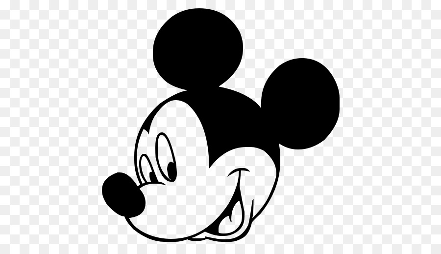 mickey mouse minnie mouse black and white clip art mickey mouse png download 512 512 free. Black Bedroom Furniture Sets. Home Design Ideas