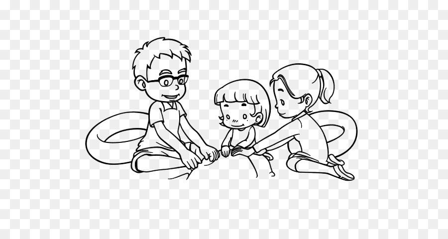 Libro para colorear de la Familia de Dibujo Hijo de Padre - La ...