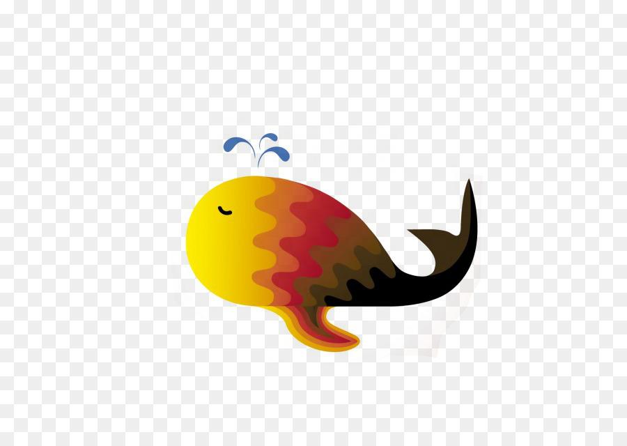 La Ballena De Color De Dibujo - ballena png dibujo - Transparente ...