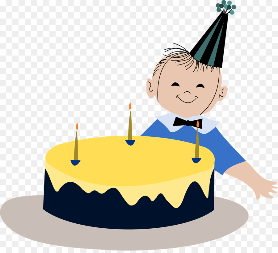 Birthday Cake Child Boy Clip Art