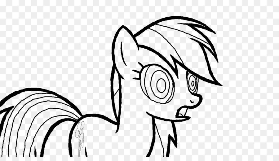 Rainbow Dash Rareza Dibujo de Mi Pequeño Pony para Colorear libro ...