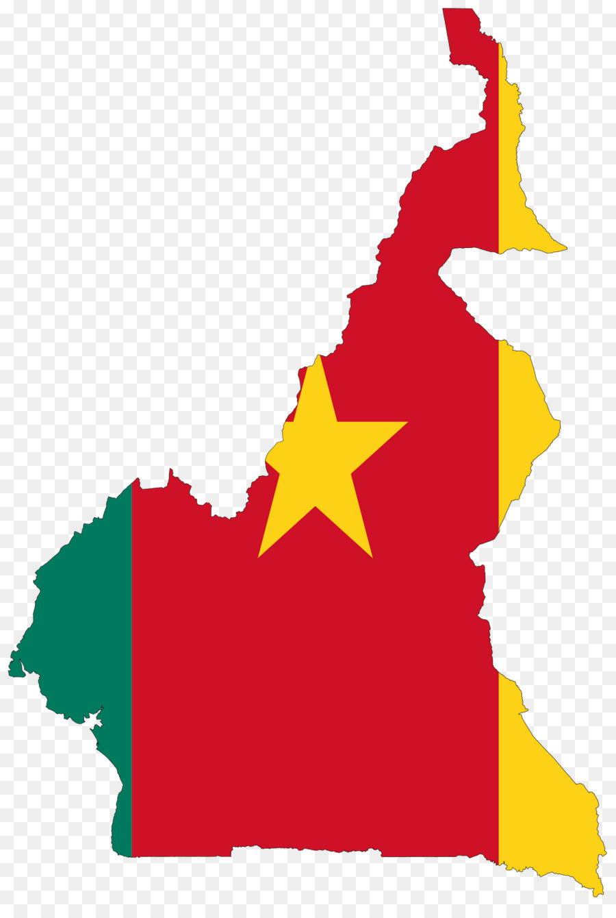 Flag of Cameroon World map - map png download - 1076*1600 - Free ...