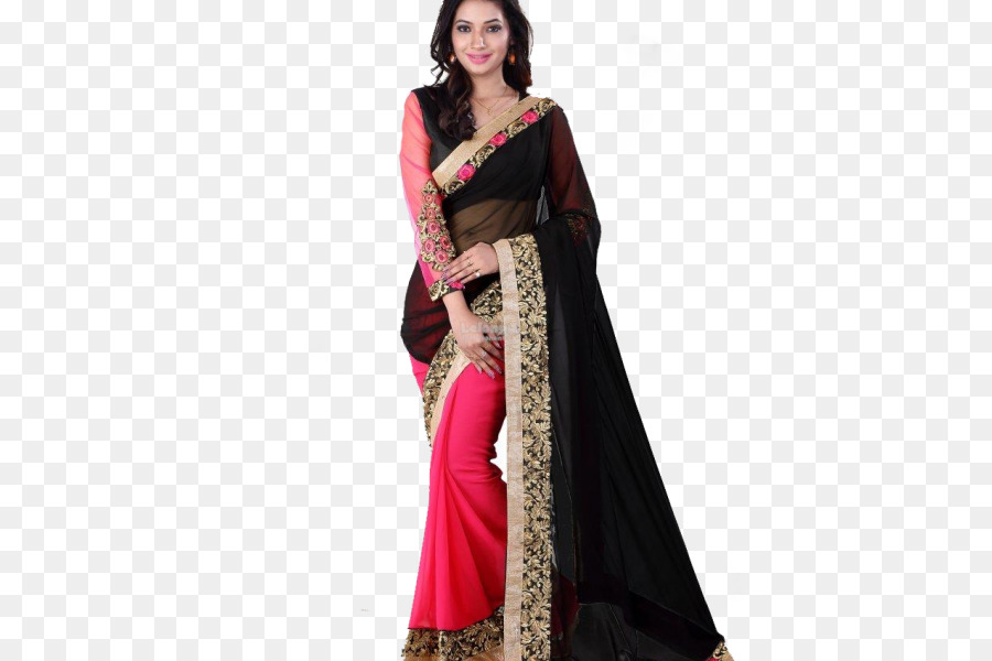 a48bc3542ec Georgette Sari Snapdeal Online shopping Shalwar kameez - others png ...