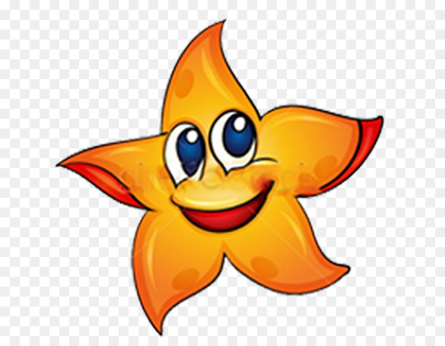 Estrella de mar libre de Regalías de dibujos animados - estrella de ...