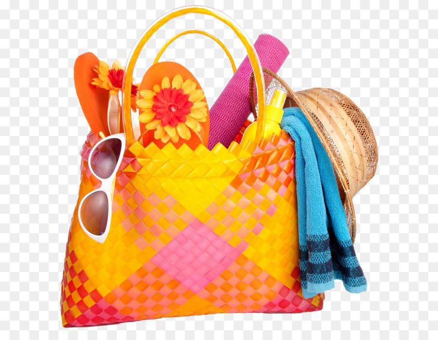 Damentaschen Beach Strand Tasche Orange