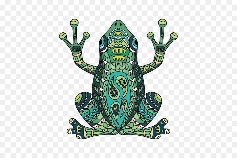 Australia rana arborícola verde Tatuaje Azul poison dart frog - rana ...