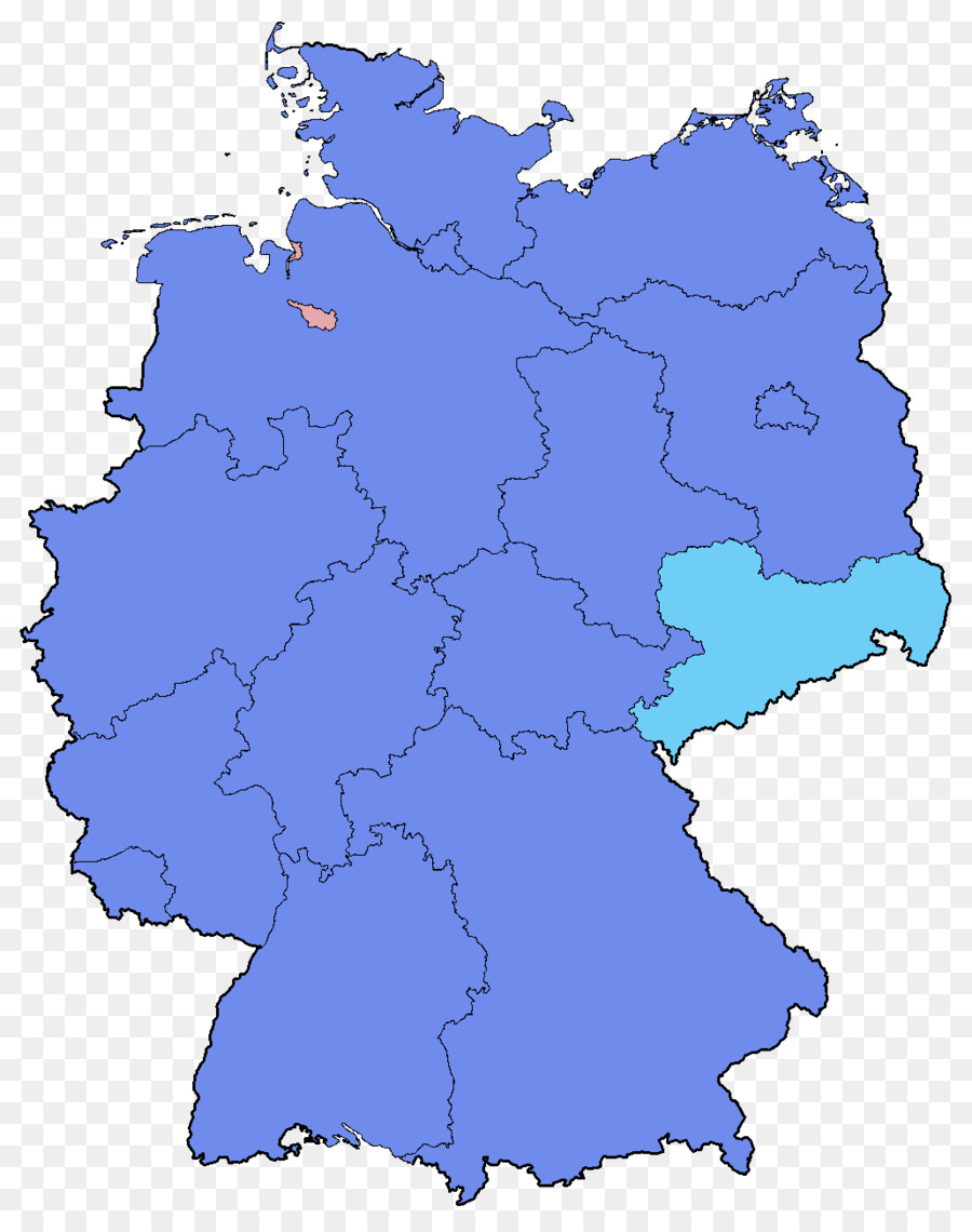 German federal election, 2017 Map States of Germany Bundestag - map ...