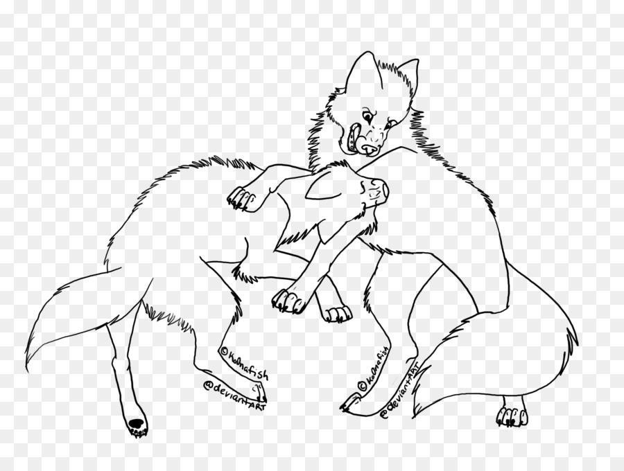 Libro para colorear de Dibujo de lobo Ártico Coyote Pack - otros png ...