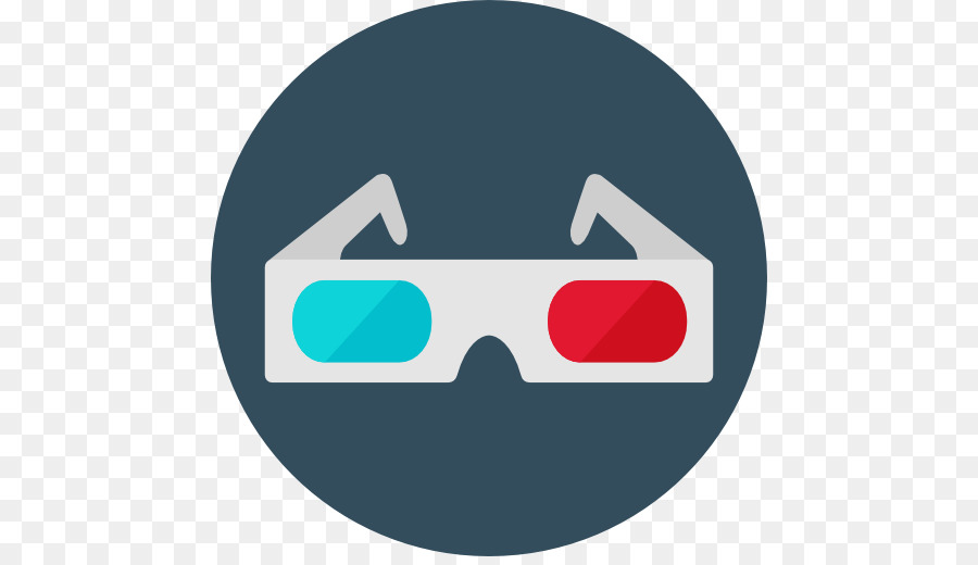 03b33447083 Computer Icons Polarized 3D system Cinema - glasses png download - 512 512  - Free Transparent Computer Icons png Download.