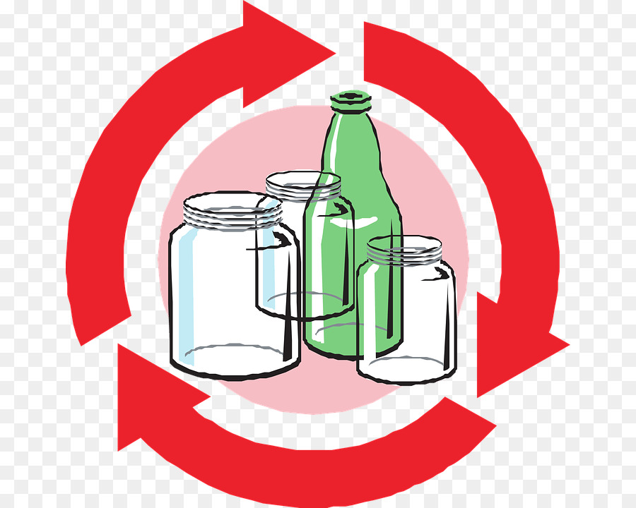 Glass Recycling Recycling Symbol Glass Bottle Glass Png Download