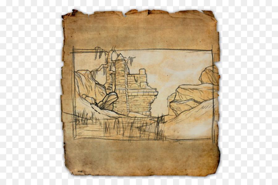 The Elder Scrolls Online-Schatz-Karte World Map Vergrabenen Schatz ...