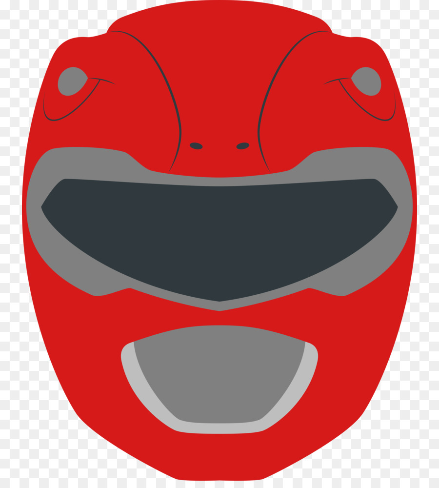 It is a graphic of Amazing Red Power Ranger Clipart