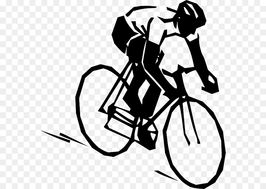 Road Cycling Bicycle Clip Art