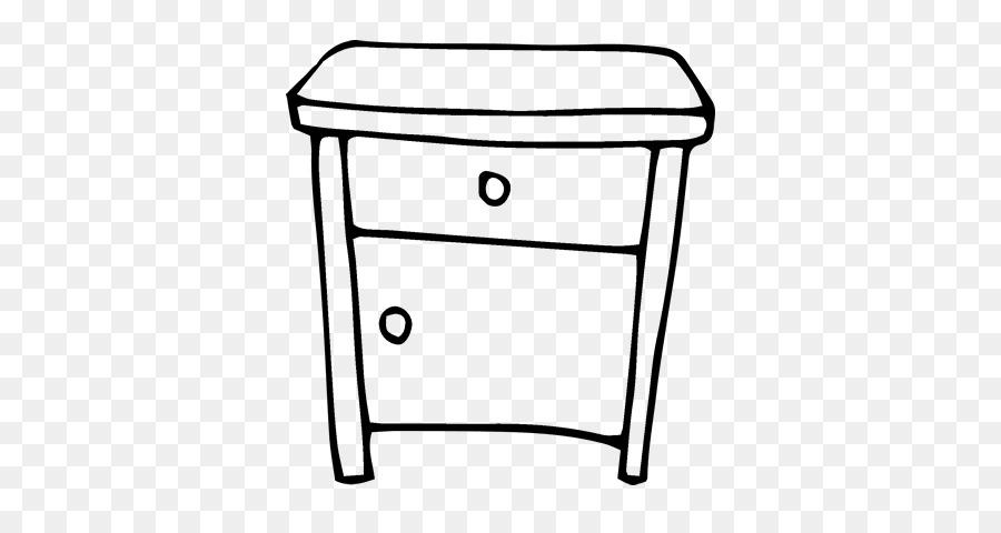 Mesitas de noche mesa de Dibujo para Colorear libro - tabla png ...