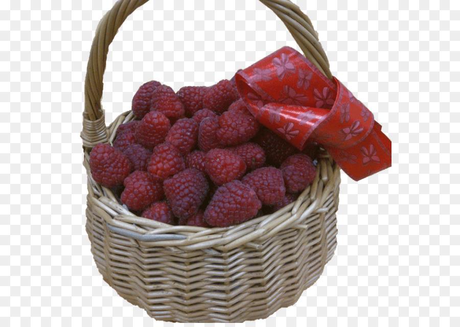 Erdbeere, Rote Himbeere Lebensmittel-Geschenk-Körbe - Erdbeere png ...