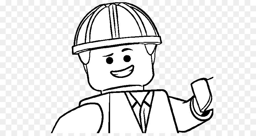 Emmet Wyldstyle Bad Cop Good Cop Buku Mewarnai Lego Lego Film