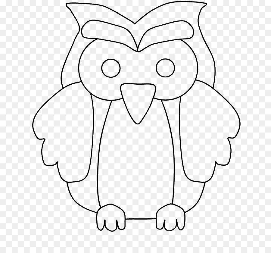 Coloring Book Owl Drawing Child Beak Owl Png Download 700839