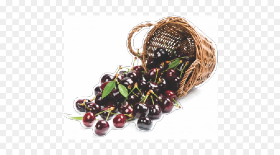 Cherry Manis Keranjang Buah Auglis Cherry Png Unduh 500