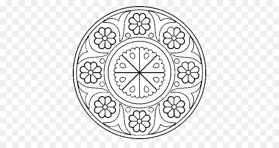 Mandala para Colorear libro Islam Dibujo del Reloj - otros png ...