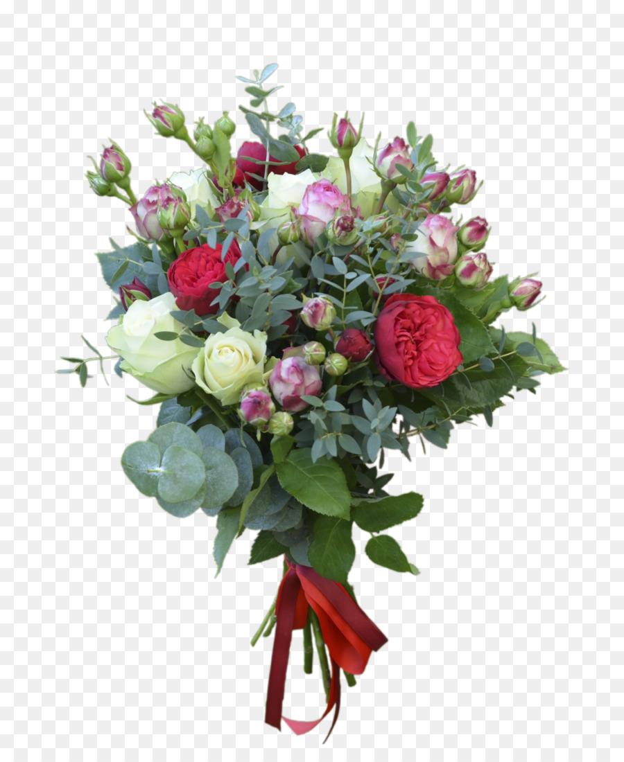 Flower Bouquet Anniversary Garden Roses Birthday Flower Png