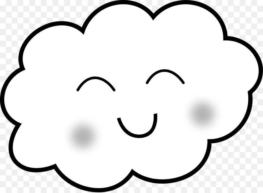 Dibujo para Colorear libro en la Nube Clip art - páginas 3840*2809 ...