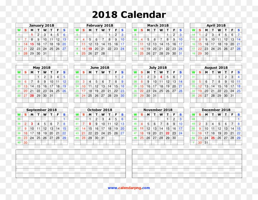 0 calendar month year june 2018 calendar png download 2200 1700