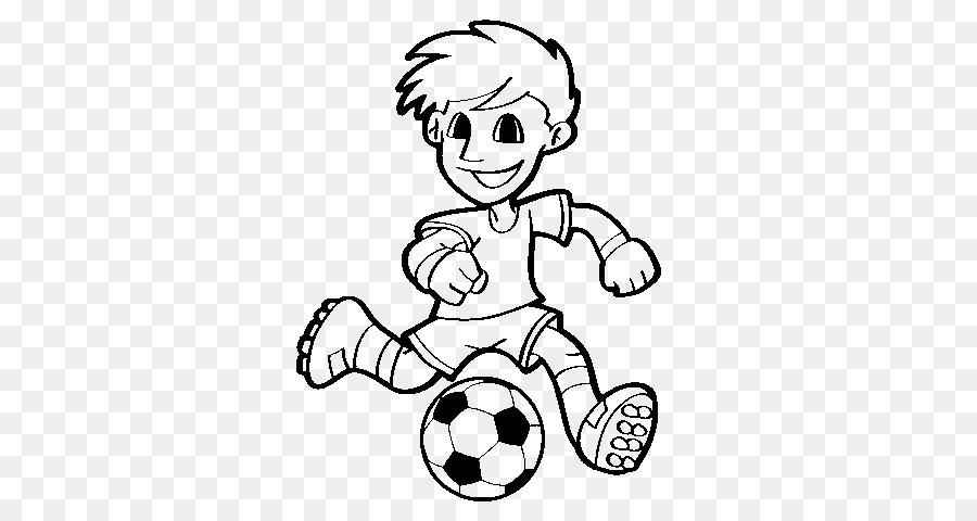 Copa Mundial de la FIFA, el jugador de Fútbol para Colorear libro ...