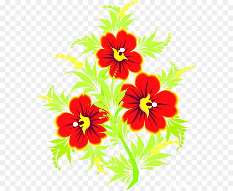 Flor De Noche Buena El Blog De Azul Clip Art Flor Png Dibujo