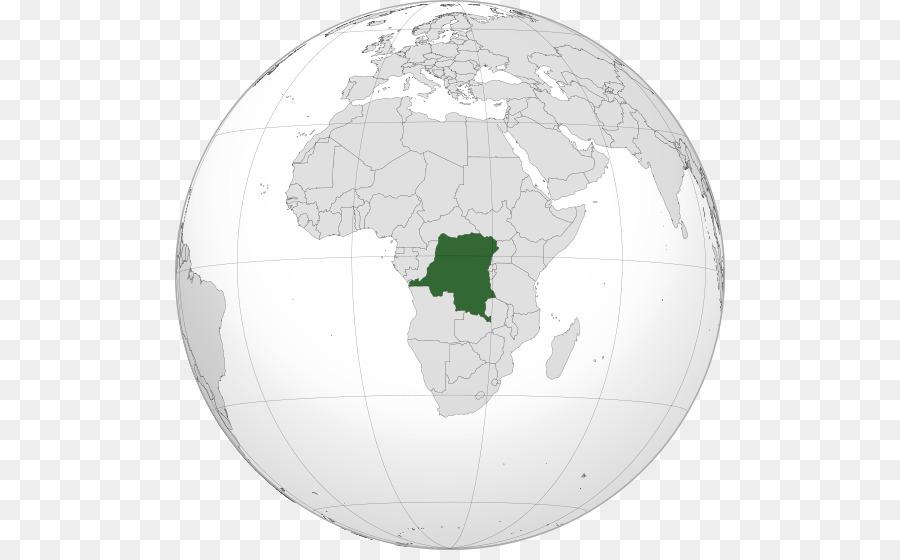 Democratic Republic Of The Congo World Map Cabinda Province World