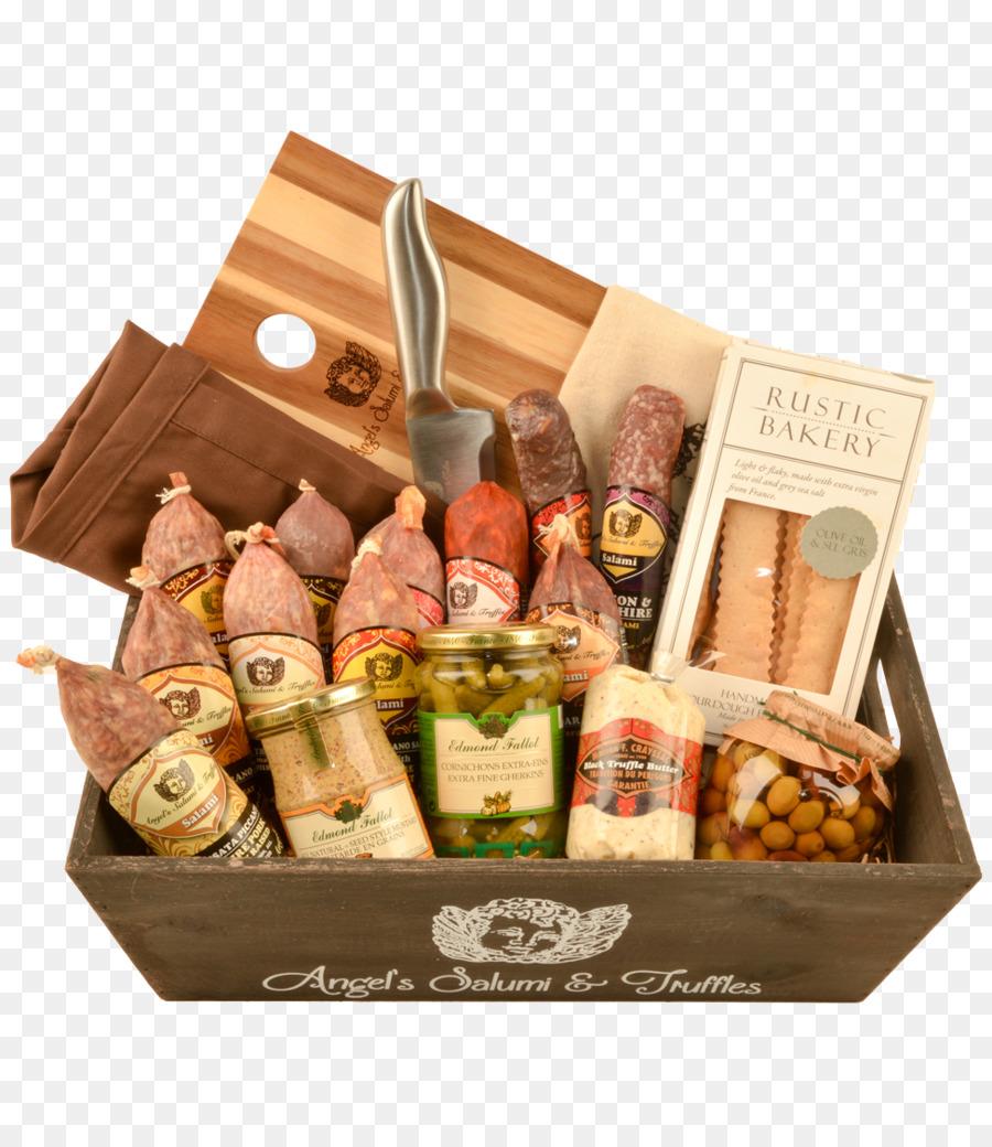 Food Gift Baskets Salami Game Meat Hamper - gift png download - 974*1112 - Free Transparent Food Gift Baskets png Download.