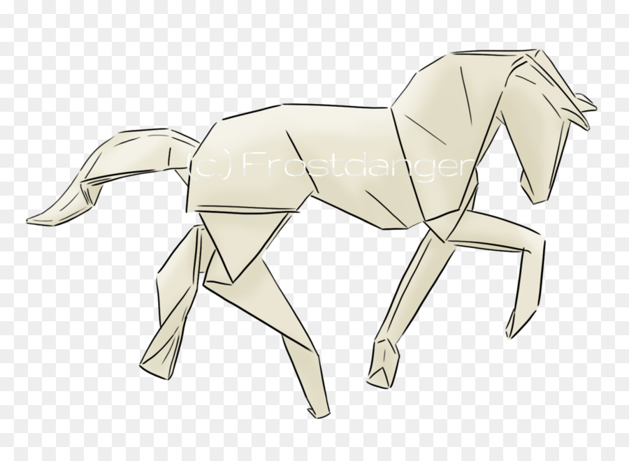 Tattoo Artist Pony Clydesdale Horse Origami Others Png Download