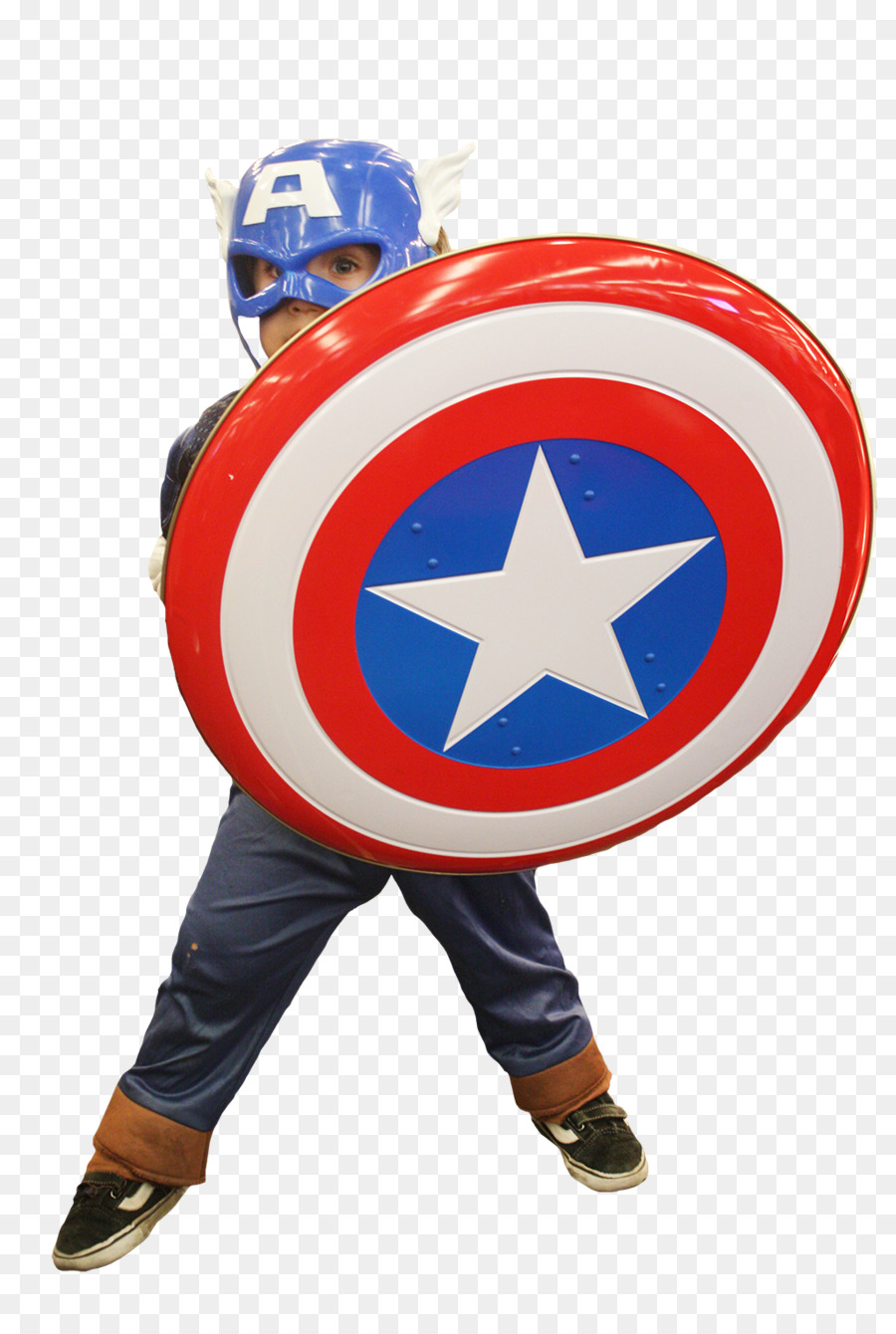 Captain America Cosplay Weibliche Comic Con India American Dream