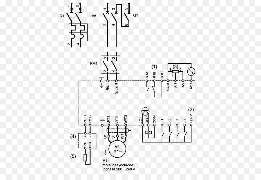 diode variable frequency \u0026 adjustable speed drives circuit diagramdiode variable frequency \u0026 adjustable speed drives circuit diagram three phase electric power induction motor others png download 575*605 free