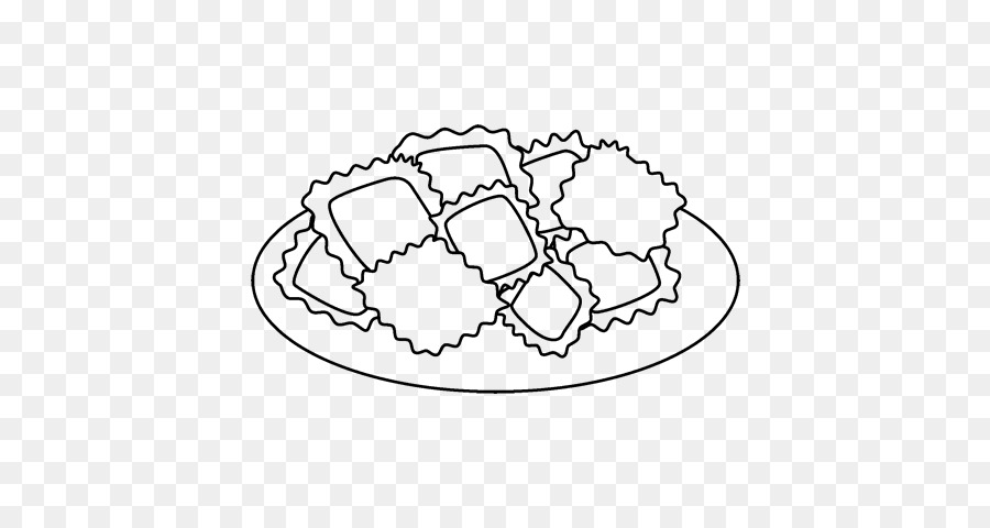 Raviolis de Dibujo de Alimentos para Colorear libro - galleta png ...