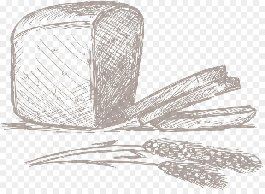 Pain De Seigle Boulangerie Dessin La Cuisson De L Outil