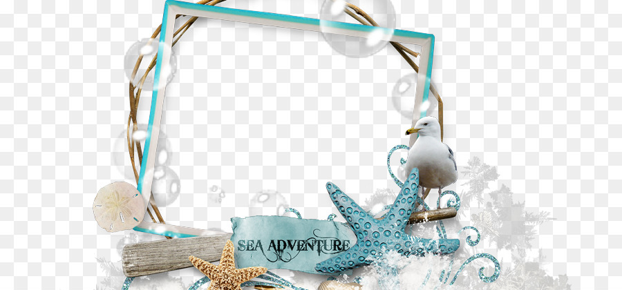 Picture Frames Sea Beach Scrapbooking - sea png download - 800*420 ...