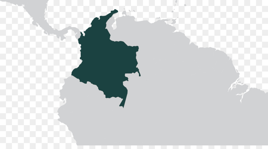 Colombia World map World map - map png download - 1000*542 - Free ...