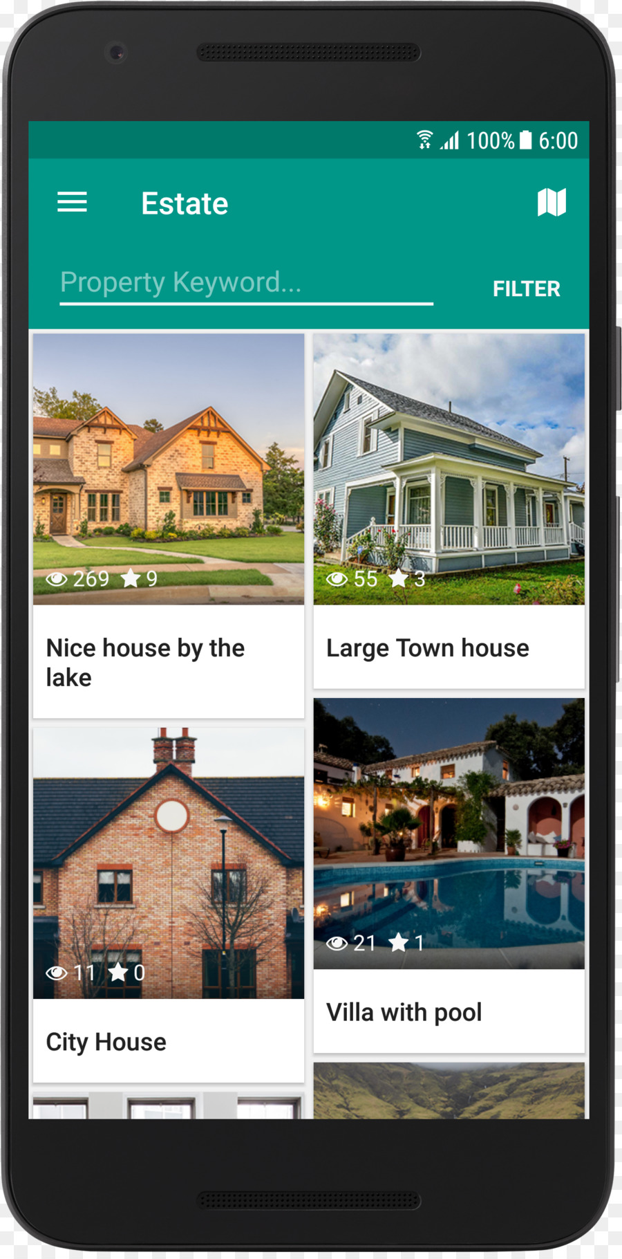 Web Template System Real Estate House Property Realstate Png