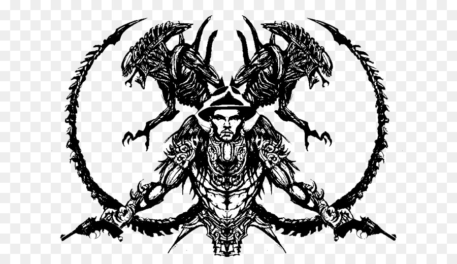Alien vs Predator Alien vs Predator Dibujo, Arte - depredador png ...