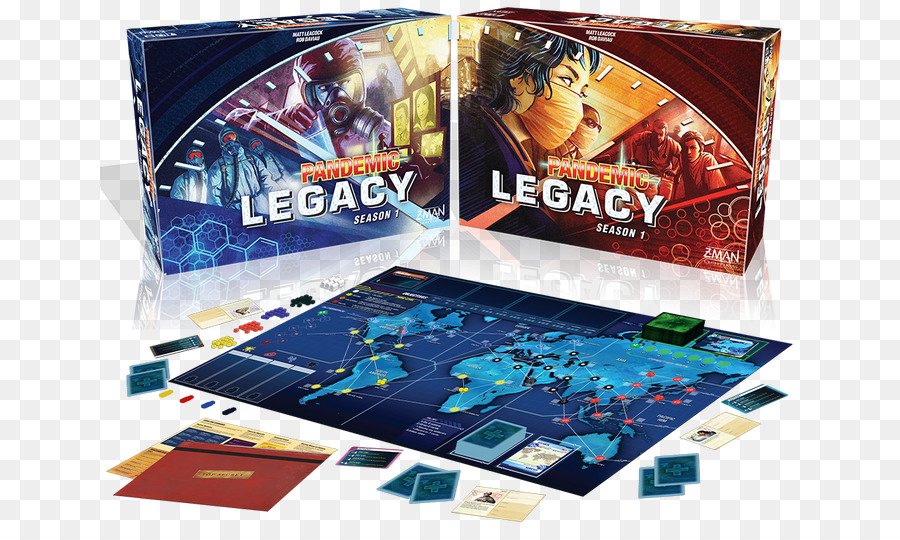 Pandemic Tabletop Game png download - 700*531 - Free
