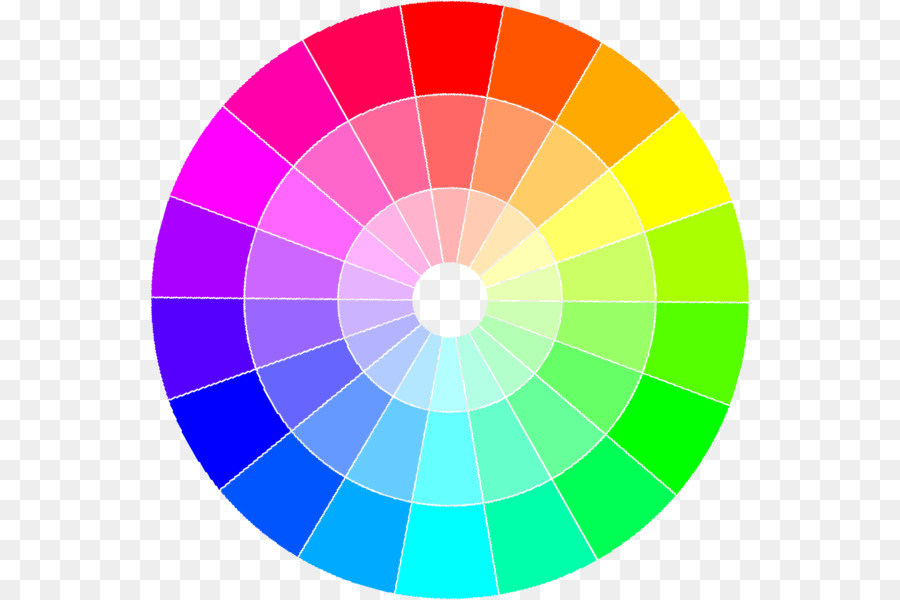 Color wheel Color theory Monochromatic color Color scheme Complementary colors - large colorfull lense