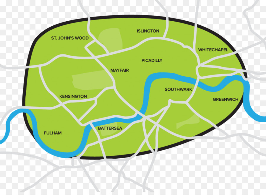 Areas Of Central London Map.Map Cartoon Png Download 1024 738 Free Transparent Central
