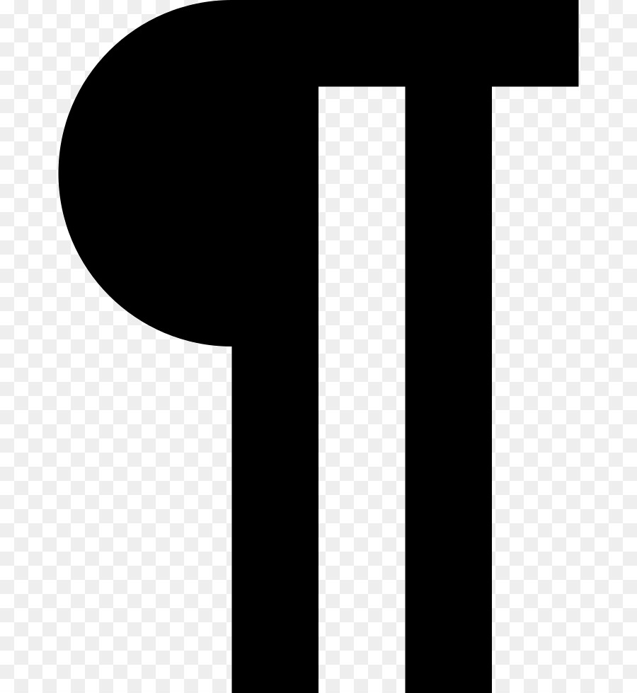 Pilcrow Paragraph Computer Icons Section Sign Symbol Symbol Png