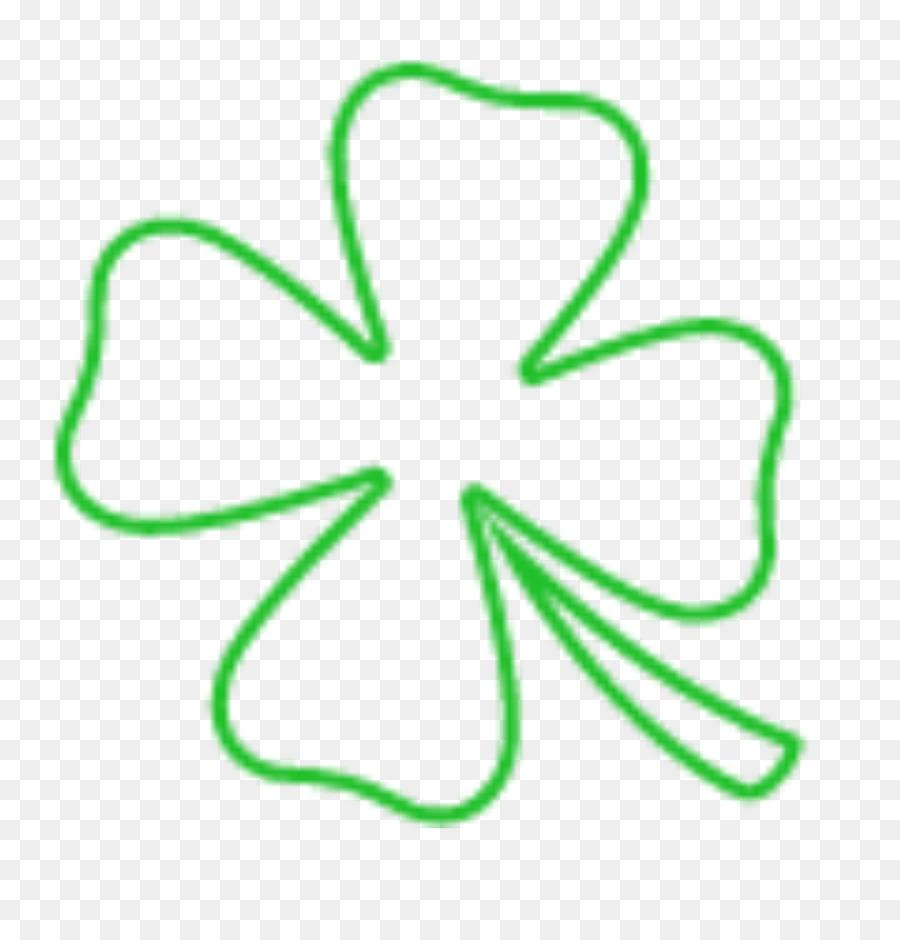Dört Yapraklı Yonca çizim şanslar Dört Yapraklı Yonca Png Indir