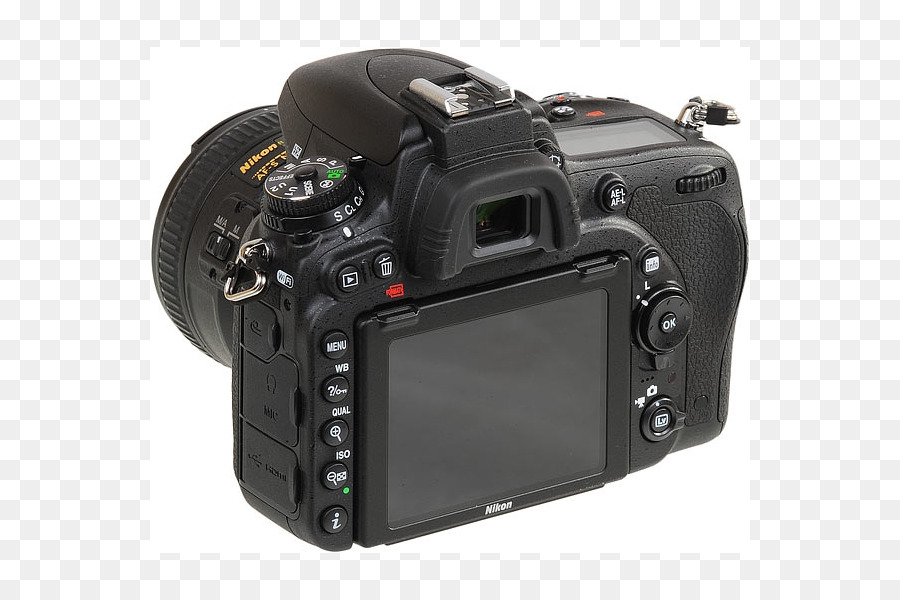 Full-frame digital SLR Nikon D7500 Canon EOS 77D Camera - Camera png ...
