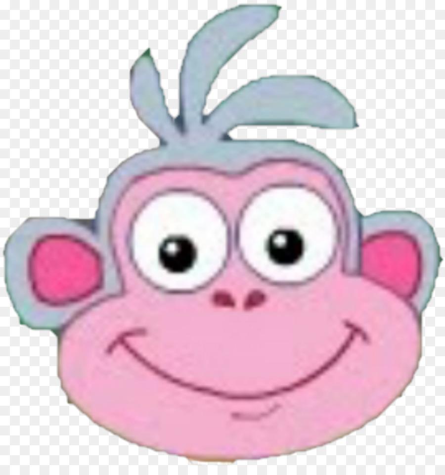 Boots The Monkey, Desktop Wallpaper, Dora The Explorer, Pink, Material PNG