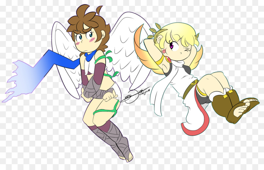 Kid Icarus Uprising Pit Drawing Super Smash Bros